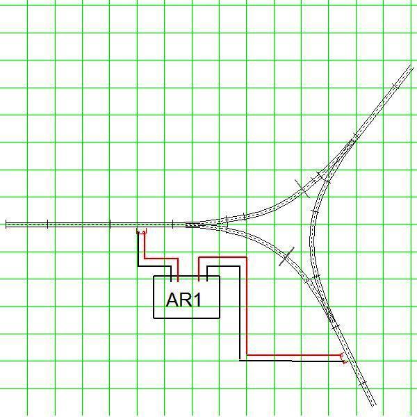 Wye Wiring Diagram Wiring A Wye Using A Digitrax Ar1 Auto Reversing Unit For