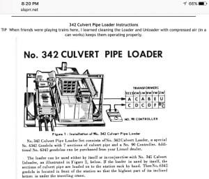 Lionel Postwar 342 Culvert Loader | O Gauge Railroading On Line Forum
