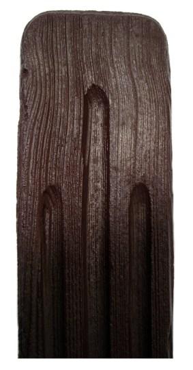 Sztacheta 10cm brązowa