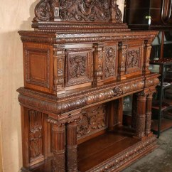 Wire Kitchen Cart Granite Set Italian Renaissance Carved Sideboard | Olde Good Things