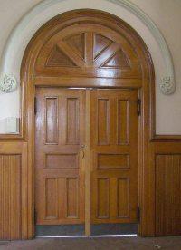 Oak Double Entry Doors | Olde Good Things