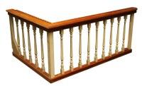 Wooden Balcony Railing | Olde Good Things