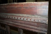Antique Stair Balcony Railing with Spindle Fretwork   Olde ...