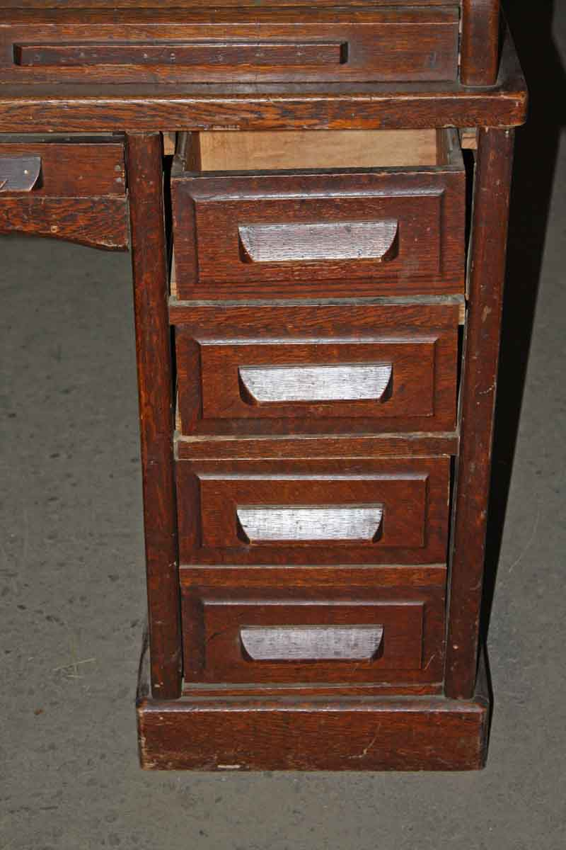 Antique Small Roll Top Desk  Olde Good Things