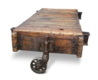 Vintage Factory Cart Coffee Table | Olde Good Things