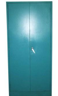 Teal Blue Metal Storage Cabinet   Olde Good Things