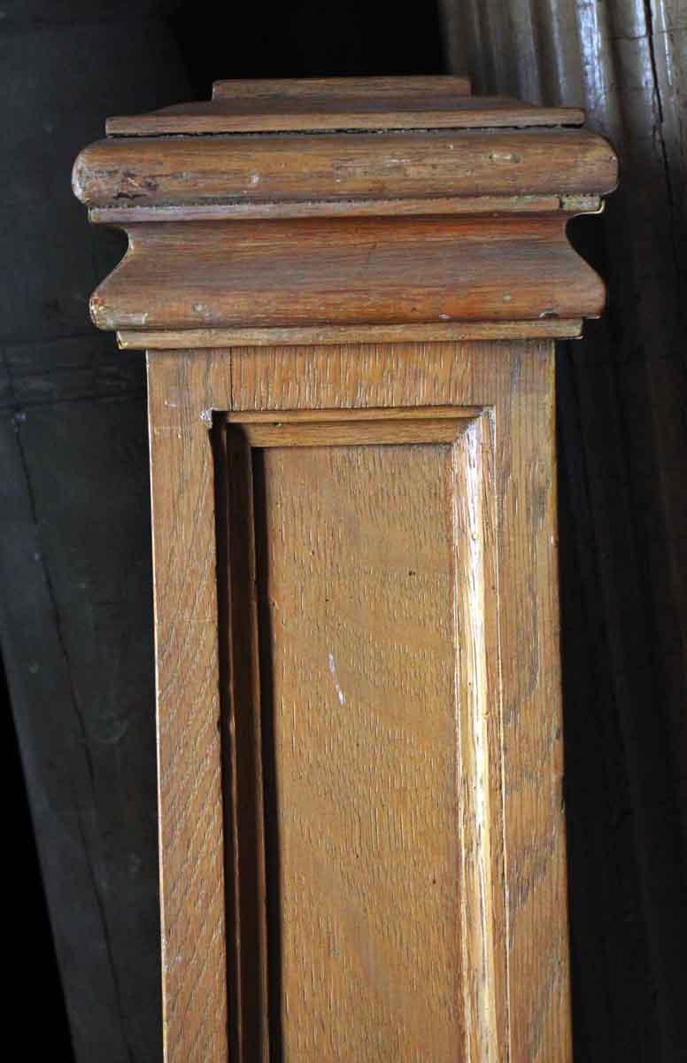 Original Antique Oak Newel Post  Olde Good Things