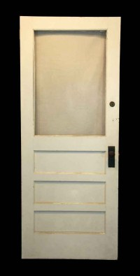 Entry Door with Half Glass Lite