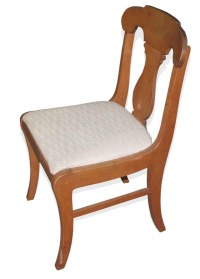 Set of Six Vintage Upholstered Dining Chairs