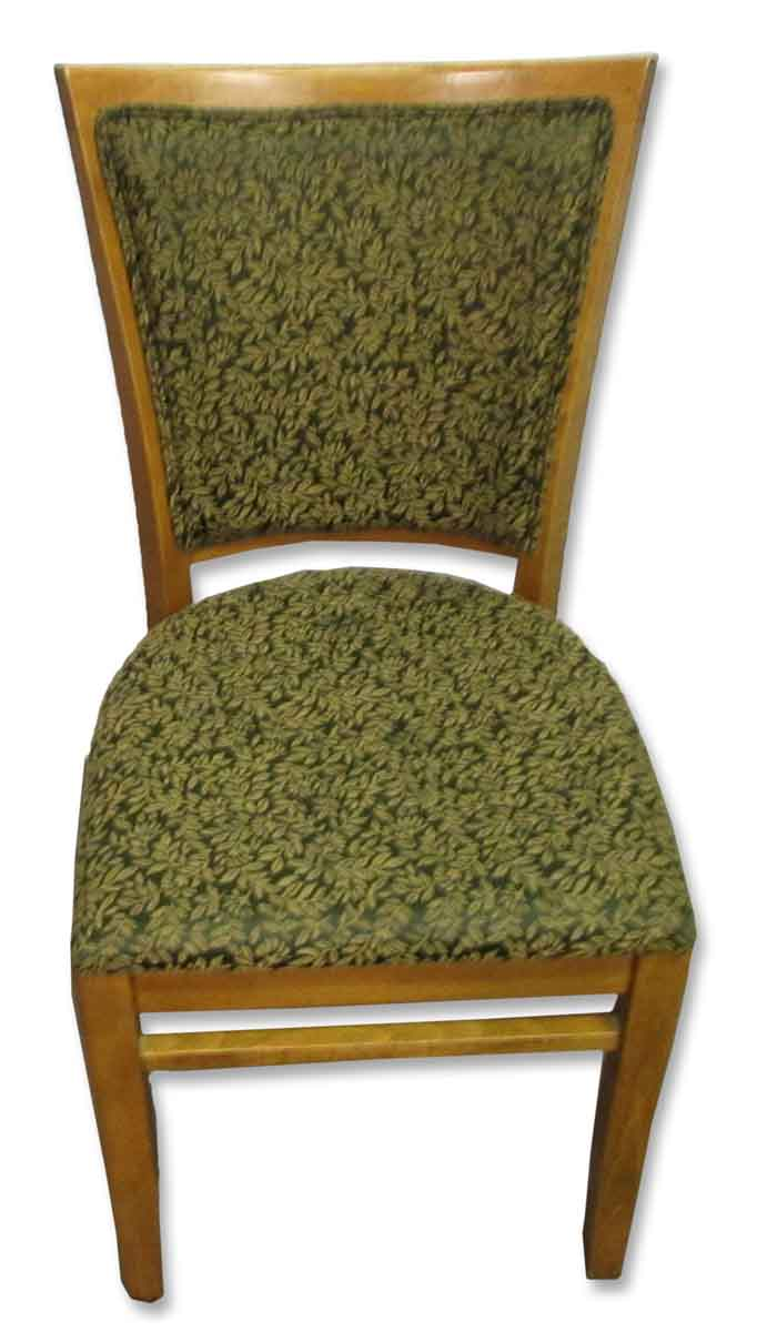 Green Upholstered Chair Set Of Five Wood Green Upholstery Chairs