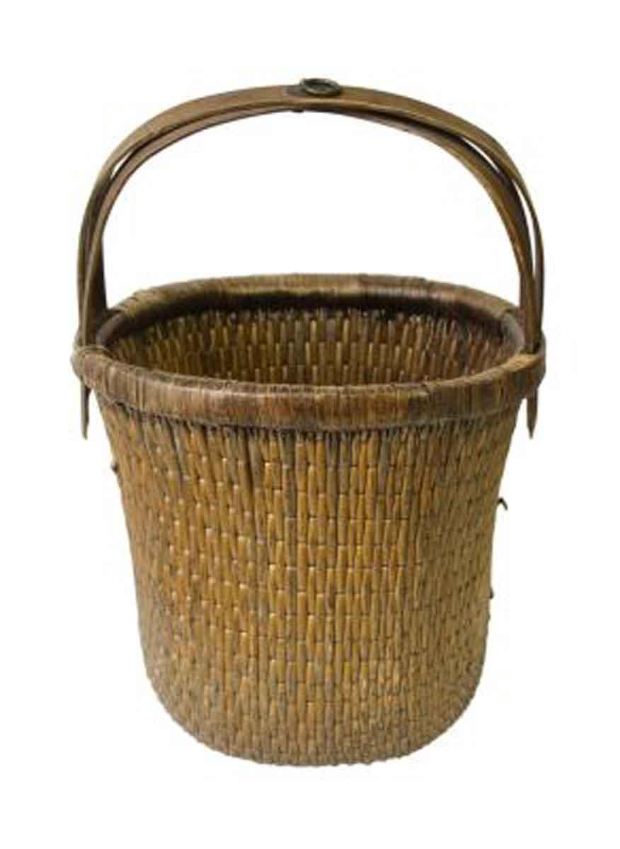 antique chinese basket olde
