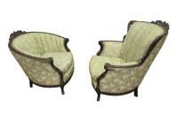 Victorian Floral Chair Set