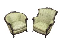Victorian Floral Chair Set