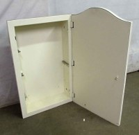 Arched Metal Medicine Cabinet   Olde Good Things
