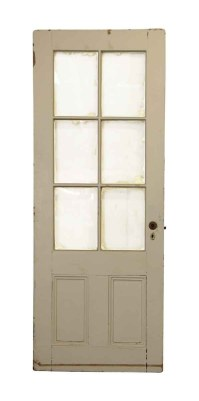 Half Glass Six Pane French Door | Olde Good Things