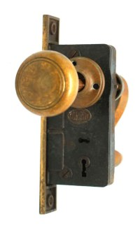 Knob Set with Key Hole Covers | Olde Good Things