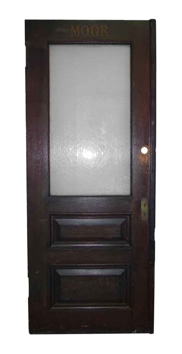 Half Glass Office Door