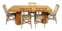 Mid Century Vintage 1950s Bamboo & Rattan Set | Olde Good ...