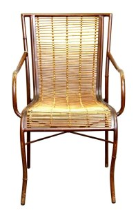 Mid Century Rattan Chair | Olde Good Things