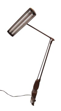 Industrial Clamp Desk Lamp | Olde Good Things
