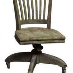 Huntington Chair Corporation Kid Rocking Salvaged Office Furniture Olde Good Things Wooden Green Giratory