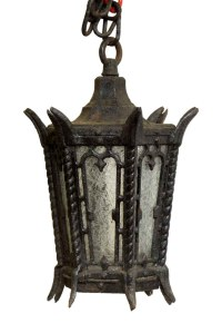 Set of Lamp Post Tops & Entry Lantern | Olde Good Things