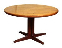 Mid Century Dining Table on Pedestal Base | Olde Good Things