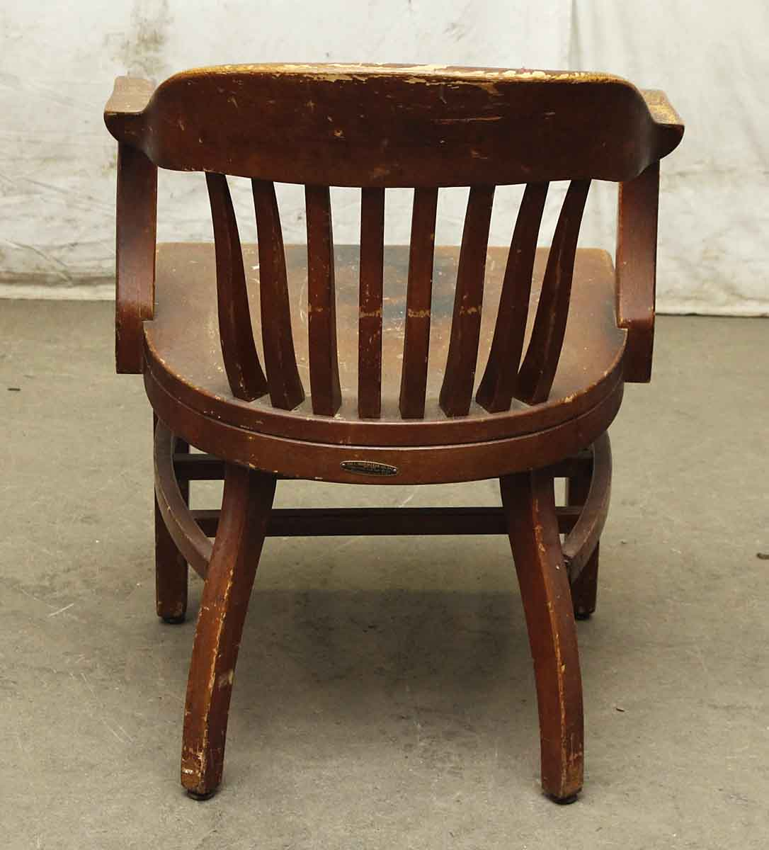 Wood Bankers Chair Wooden Shoemaker Bankers Chair Olde Good Things