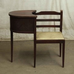 Chair Attached Table Rentals Tampa Antique Telephone With