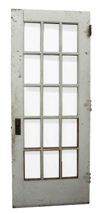 15 Beveled Glass Panel French Door | Olde Good Things