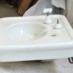 White Porcelain Kitchen Sink Easy Designer Crane Olde Good Things