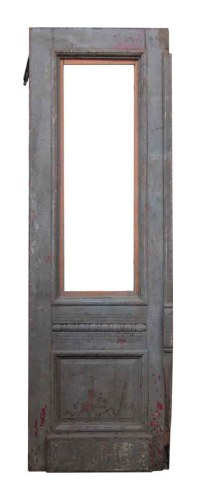 Wooden Door with Decorative Molding