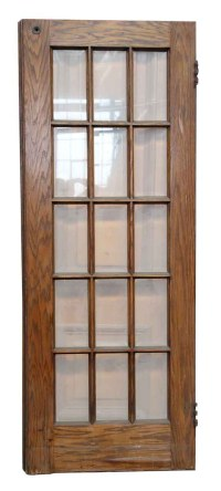 15 Beveled Glass Panel Door | Olde Good Things