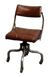 Vintage Upholstered Office Chair by Domore