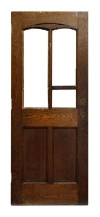 Half Glass Salvaged Interior Door | Olde Good Things