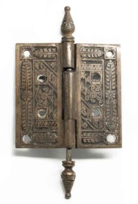 Decorative Bronze Ornate Hinge | Olde Good Things