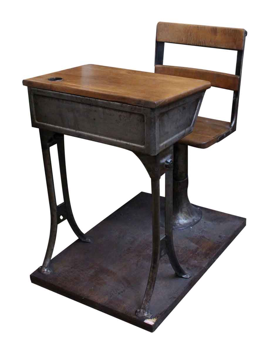 Antique Childrens School Desk  Olde Good Things