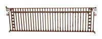 Sterling Hotel Cast Iron Balcony Railing | Olde Good Things