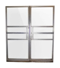 Double Commercial Glass Doors with Aluminum Frame | Olde ...