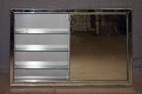 Aluminum Medicine Cabinet | Olde Good Things