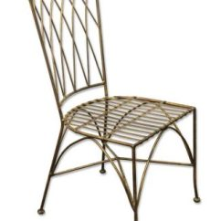 Metal Outdoor Chair Rocking Sex Antique Patio Furniture Olde Good Things Painted Black