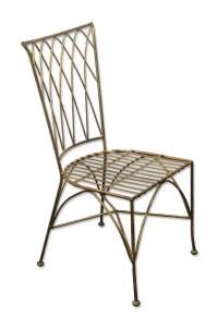 Metal Chair Painted Black | Olde Good Things