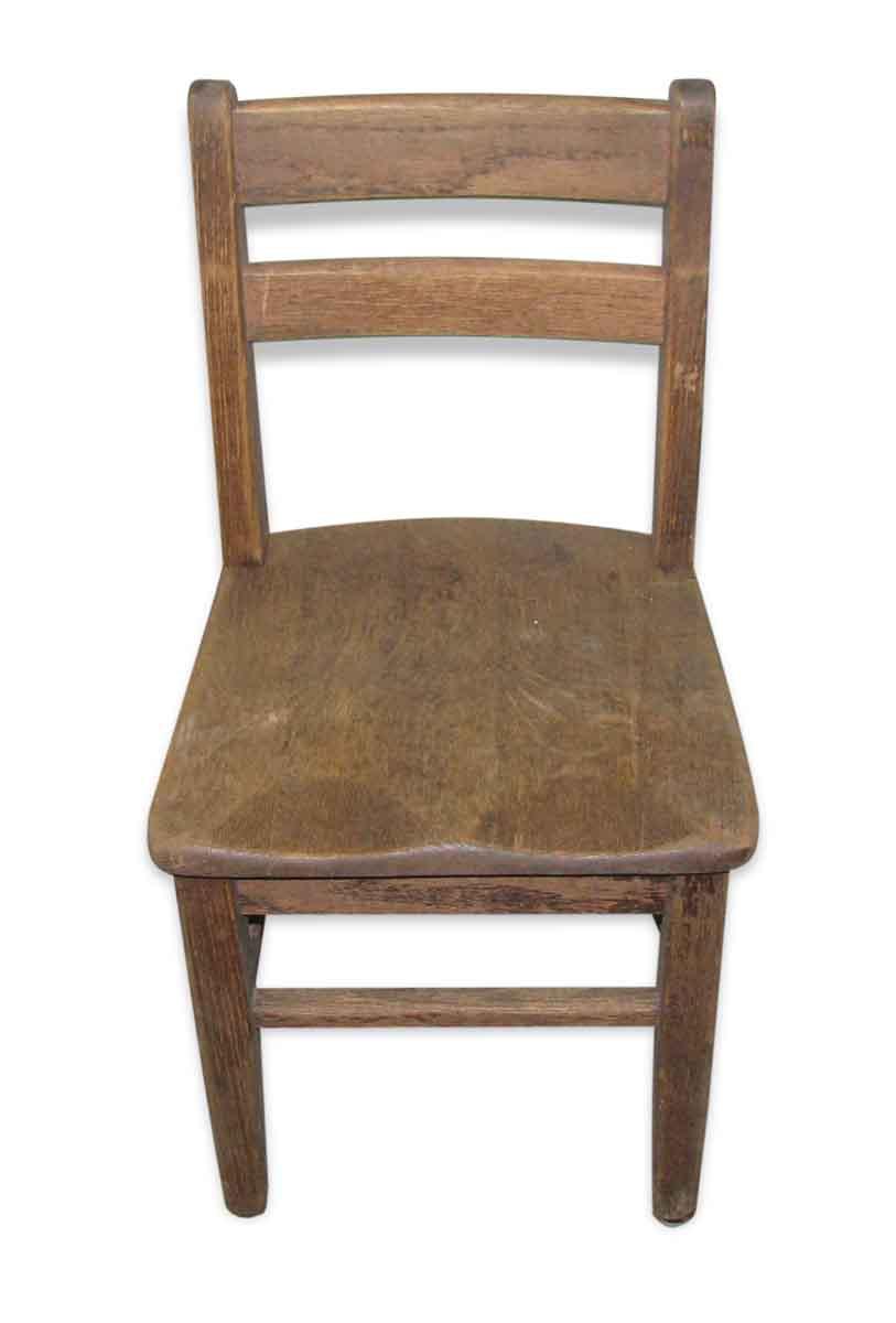Old Wooden School Chair  Olde Good Things
