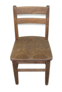 Old Wooden School Chair | Olde Good Things