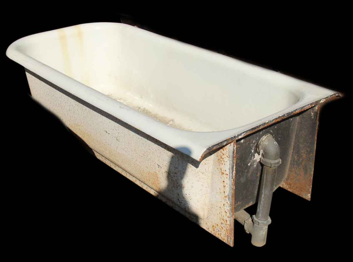 Cast Iron Built in Tub  Olde Good Things