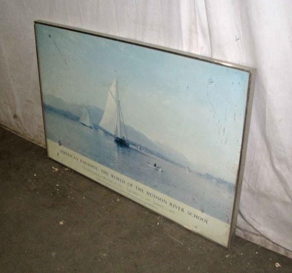 Metropolitan Museum Of Art Framed Exhibit Poster Olde