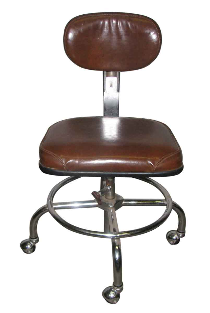 1950s Rolling Office Chair  Olde Good Things