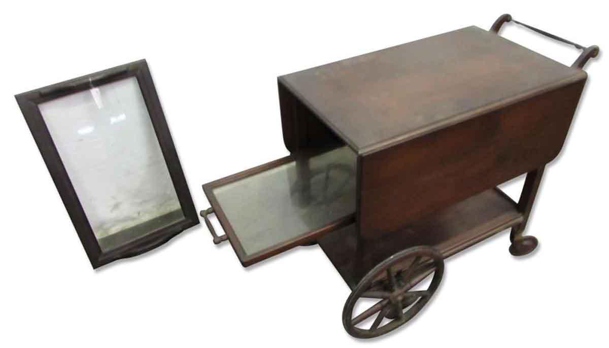antique serving cart olde