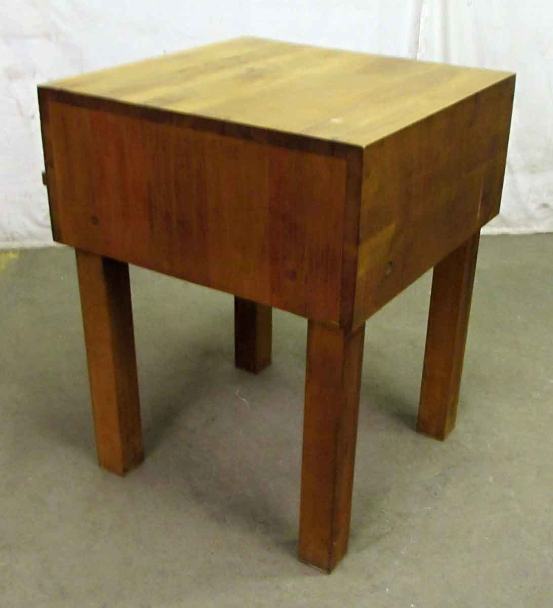 mid century kitchen table tuscan decor butcher block olde good things
