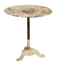 Cast Iron Pedestal Patio Table Not on Brook. 5/9/17 FR ...